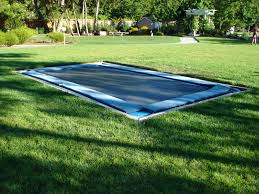 inground trampoline i will do this if i have the option to one