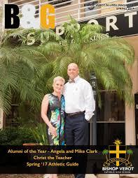 b u0026g alumni magazine spring 2017 by bishop verot catholic high