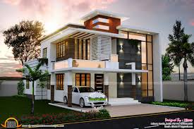 contemporary style home sq ft nice contemporary house kerala home design floor sq feet