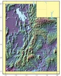 Road Map Utah by Utah Relief Map U2022 Mapsof Net