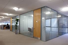 Interion Partitions Frameless Double Glazed Glass Walls Avanti Systems Usa