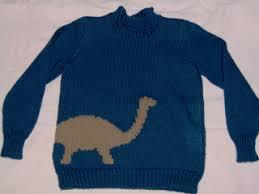 knitting pattern dinosaur jumper ravelry cody s dinosaur sweater pattern by debbie macomber