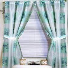 Matching Shower Curtain And Window Curtain Double Swag Shower Curtain With Matching Window Curtains