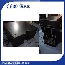 empty plastic speaker cabinets empty line array cabinets 10inch 2 way line array cabinets view