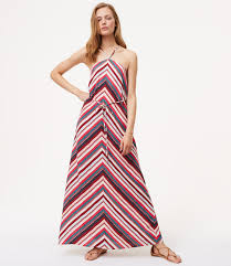 chevron maxi dress chevron halter maxi dress loft