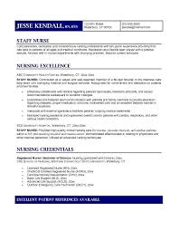 example of a nurse resume resume sample for rn bsn resume sample