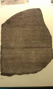 rosetta stone date title the rosetta stone date 197 196 bce from top to bottom the