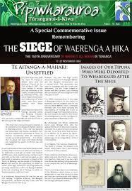 siege jacqueline riu pipiwharauroa oct nov 2015 by trial account issuu