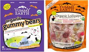 yummyearth organic gummy bears and lollipops lead trend for a