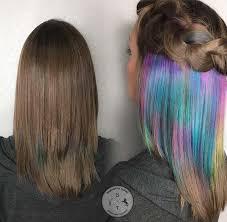 dye bottom hair tips still in style best 25 hidden rainbow hair ideas on pinterest hidden hair