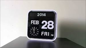 Karlsson Orologio by Fartech Flip Clock Official Product Video By Fartech Youtube
