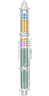a340 seat map a340 600 config 1 lufthansa seat maps reviews seatplans com