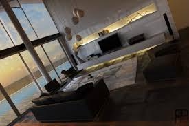 living room modern white entertainment living room decoration