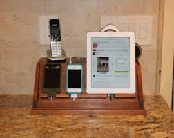 Electronic Charging Station Desk Organizer Phone Charging Station By Justholler On Etsy Smart Start