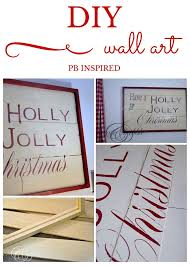 Best 25 Pottery Barn Christmas Wonderful Best 25 Christmas Wall Art Ideas Only On Pinterest