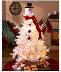 snowman christmas tree christmas snowman top of the tree hugger home kitchen