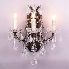 Antique Brass Bathroom Vanity Lights Sconce Brass Light Gallery Nickel And Crystal Bathroom Sconce