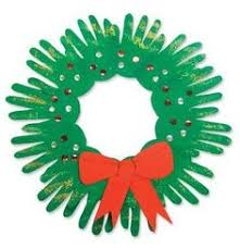 christmas reefs kids print christmas wreath tutorial easy wreaths