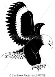 eagle tattoo clipart eagle tattoo abstract eagle in the form of a tattoo clipart vector