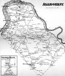 Florence Colorado Map by Westmoreland County Pennsylvania Atlas 1867