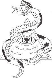 illuminati symbols drawings