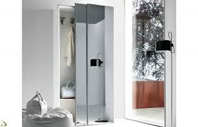 armadio con ante in vetro armadio scorrevole da ingresso steven arredo design