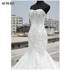 bling wedding dresses luxury bling bling wedding dresses mermaid sweetheart tulle