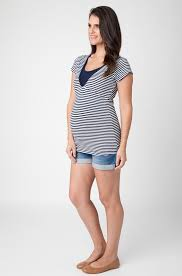 maternity wear australia stripe s s nursing top maternity wear