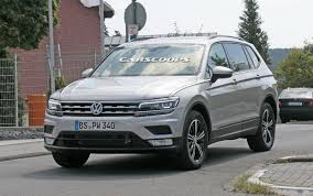 volkswagen tiguan white 2018 new 2018 vw tiguan allspace with 7 seats teased ahead of detroit