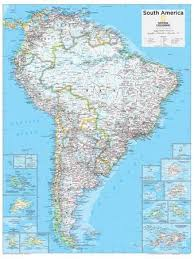 south america map maps of south america posters at allposters
