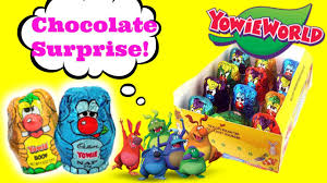candy kinder egg kinder egg surprises chocolate unboxing review yowie