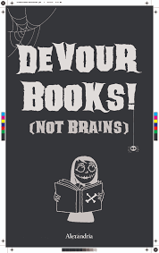 halloween posters for your library alexandria