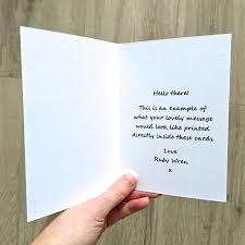 personalised u0027mum and dad u0027 days card by ruby wren designs