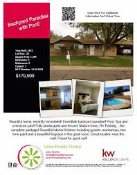 Park Flyers Backyard Flyers by Remember Our New Listings Check Out The Flyers U2013 Lime Realty