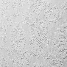 paintable damask textured wallpaper 10603
