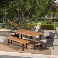 Outdoor Wooden Patio Furniture Wood Patio Furniture You Ll Wayfair