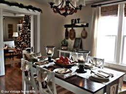 modern vintage home decor ideas holiday table decor