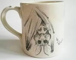 ceramic bat etsy