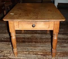 Victorian Pine Kitchen Table - Victorian pine kitchen table