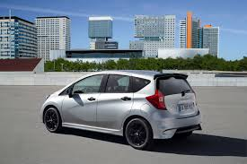 nissan black nissan reveals note black edition model