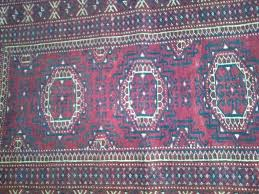 antique afghan prayer rug carpet handmade nomadic natural dyes