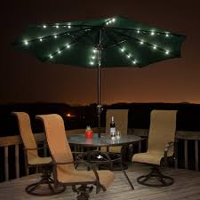 Outdoor Umbrella With Lights Ideal Lighted Patio Umbrella 65 About Remodel Interior Home