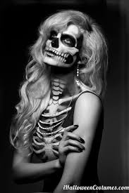 60 terrifyingly cool skeleton makeup ideas to try for