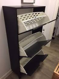 ikea stall ikea stall shoe cabinet with 3 compartments ebay