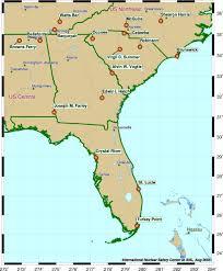 map usa southeast map usa south major tourist attractions maps