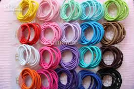 hair rubber bands 2018 hair rubber bands jewelry texture comfortable circle high