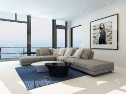 Livingroom Lounge Modern Waterfront Living Room With A Bright Airy Lounge Interior