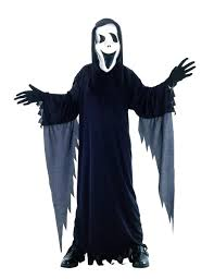 scream halloween mask assassin costume for children for halloween kids costumes and