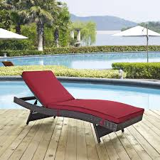 Patio Furniture Chaise Lounge Coral Coast Tanna All Weather Wicker Folding Outdoor Chaise