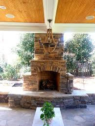 beautiful photos of stone outdoor fireplace outdoor designs